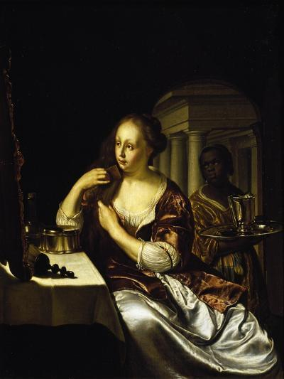 Lady at Her Toilette by Frans Van Mieris--Giclee Print