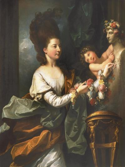 Lady Beauchamp-Proctor-Benjamin West-Giclee Print