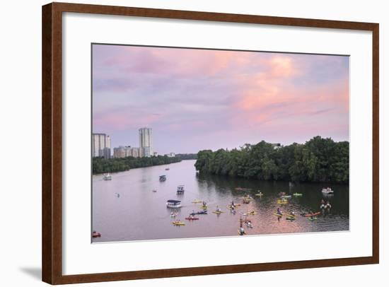 Lady Bird Lake, Austin, Texas, Usa-Lisa S. Engelbrecht-Framed Photographic Print
