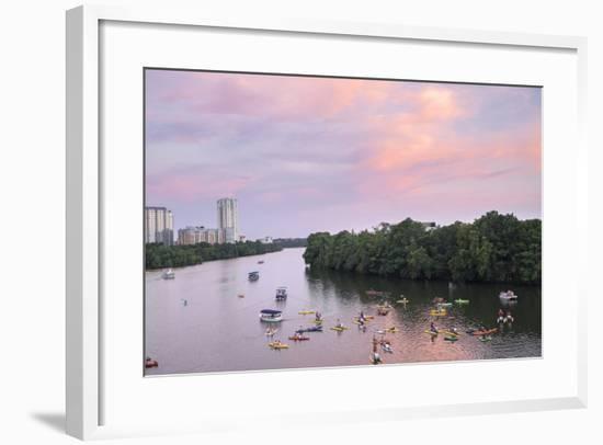 Lady Bird Lake, Austin, Texas, Usa-Lisa S. Engelbrecht-Framed Photographic Print