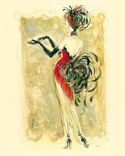 Lady Burlesque III-Dupre-Giclee Print
