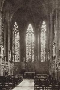 Lady Chapel, Lichfield Cathedral, Staffordshire
