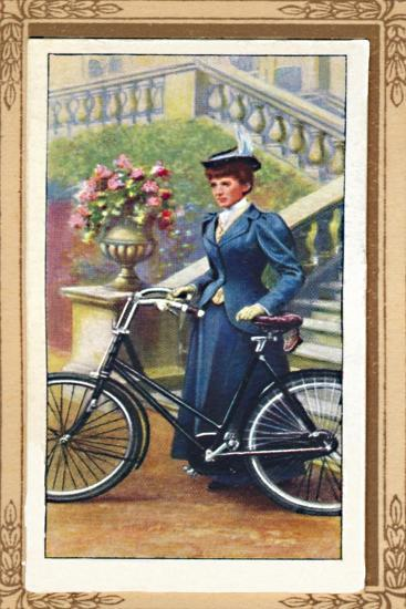 'Lady Cyclist, 1896', 1939-Unknown-Giclee Print