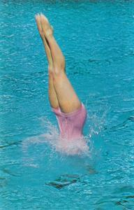 Lady Diving