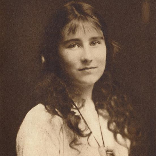 'Lady Elizabeth Bowes-Lyon as a young girl', c1917, (1937)-Unknown-Photographic Print
