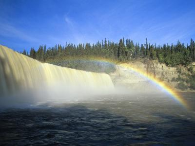 Lady Evelyn Falls on Kakisa River Near Kakisa, Northwest Territories, Canada-Mike Grandmaison-Photographic Print