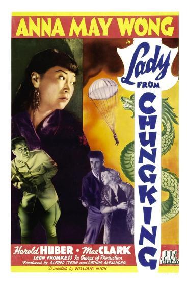 Lady from Chungking, Anna May Wong, 1942--Art Print