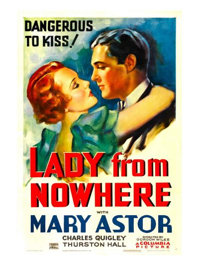 Lady from Nowhere, Mary Astor, Charles Quigley, 1933--Photo