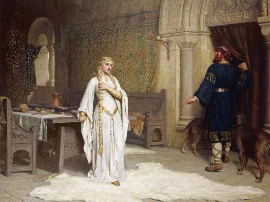 Lady Godiva, 1892-Edmund Blair Leighton-Giclee Print