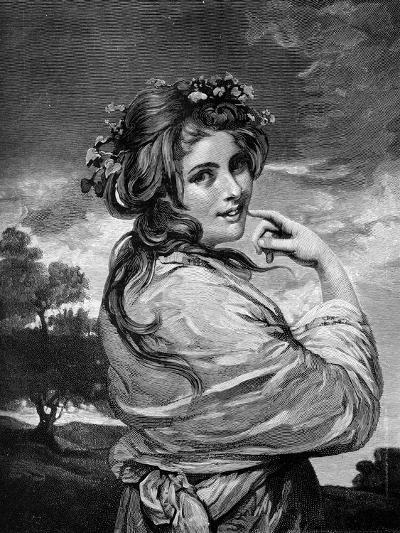 Lady Hamilton as 'Nature', C1783-1784-Joshua Reynolds-Giclee Print