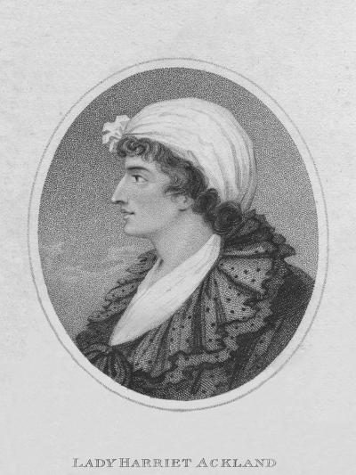 Lady Harriet Ackland, 1800- Ridley-Giclee Print