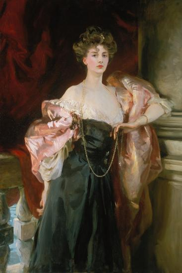 Lady Helen Vincent, Viscountess of Abernon, 1904-John Singer Sargent-Giclee Print