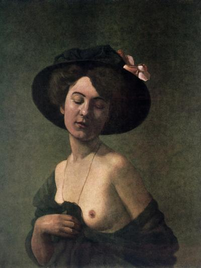 Lady in a Hat, 1908-F?lix Vallotton-Giclee Print