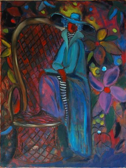 Lady in Blue, 2003-Sabina Nedelcheva-Williams-Giclee Print