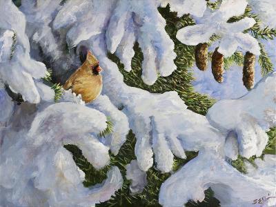 Lady in the Pines-Sarah Davis-Giclee Print