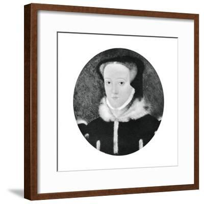 Lady Jane Grey, 16th Century Queen of England--Framed Giclee Print