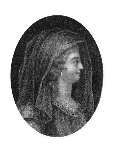 Lady Jane Grey, Queen of England-J Chapman-Giclee Print