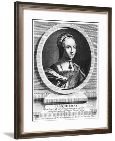Lady Jane Grey-Pierre Fran?ois Basan-Framed Giclee Print