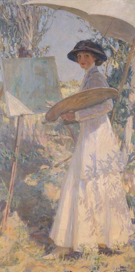Lady Lavery-Sir John Lavery-Premium Giclee Print
