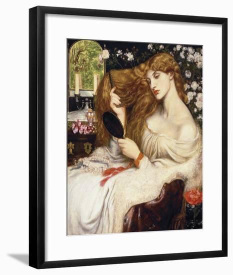 Lady Lilith, 1868-Dante Gabriel Rossetti-Framed Giclee Print