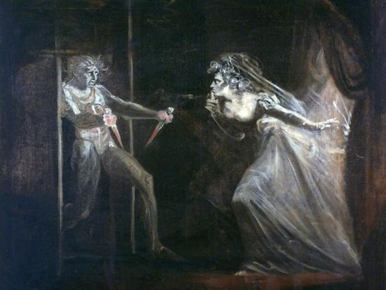 Lady Macbeth Seizing the Daggers, Exhibited 1812-Henry Fuseli-Giclee Print