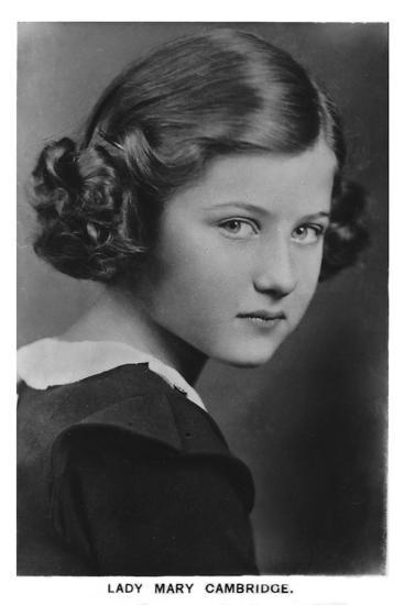 'Lady Mary Cambridge', 1937-Unknown-Photographic Print