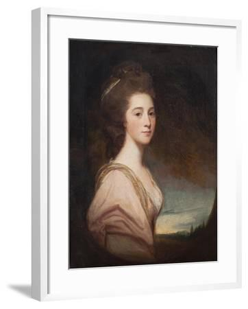 Lady Mary Drummond, 1781-George Romney-Framed Giclee Print