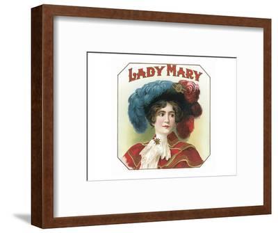 Lady Mary--Framed Art Print