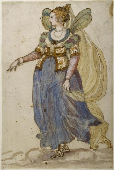 Lady Masquer-Inigo Jones-Giclee Print