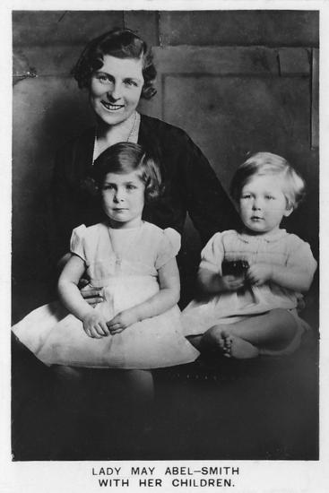 'Lady May Abel-Smith with her Children', 1937-Unknown-Photographic Print