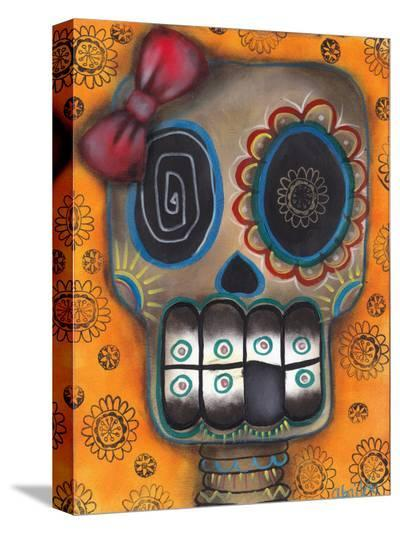 Lady Muerte-Abril Andrade-Stretched Canvas Print