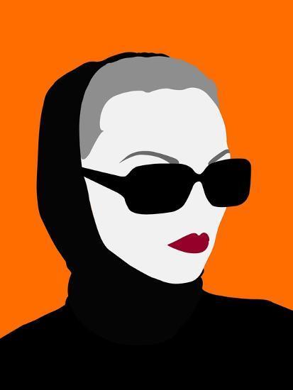 Lady No. 10-Sean Salvadori-Art Print