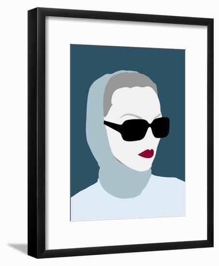 Lady No. 8-Sean Salvadori-Framed Art Print