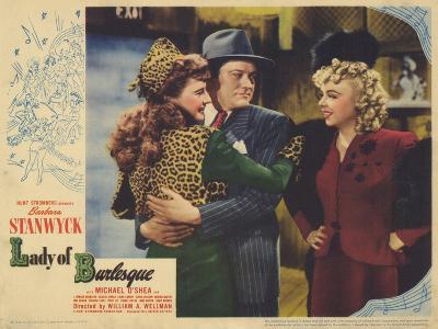 Lady of Burlesque, 1943--Art Print