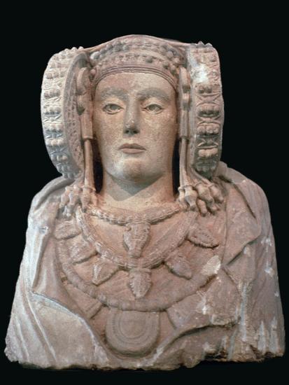 Lady of Elche, 4th century. Artist: Unknown-Unknown-Giclee Print