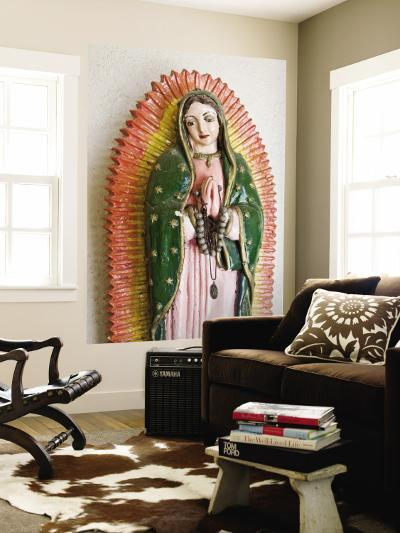 Lady of Guadalupe Statue Detail-Ray Laskowitz-Wall Mural