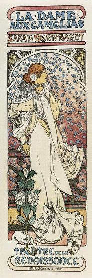 Lady of the Camellias--Art Print