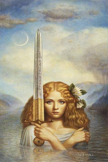 Lady of the Lake-Dan Craig-Giclee Print