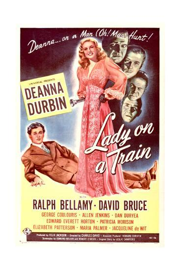 Lady on a Train - Movie Poster Reproduction--Art Print