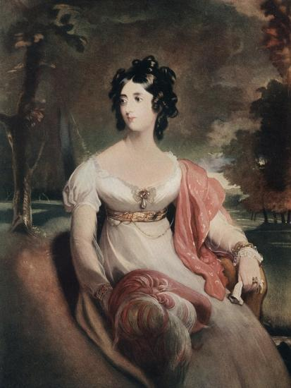 Lady Peel, Early 19th Century-C Coppier-Giclee Print