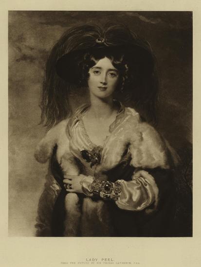Lady Peel-Thomas Lawrence-Giclee Print