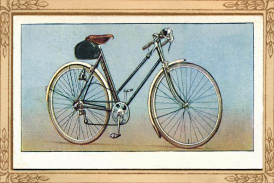 'Lady's Bicycle (3 Speed Gear and Dynamo Lighting)', 1939-Unknown-Giclee Print
