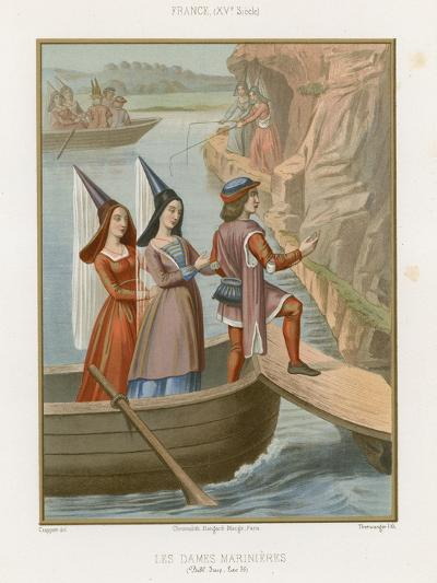 Lady Sailors--Giclee Print