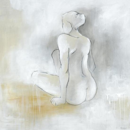 Lady Sitting-Rikki Drotar-Premium Giclee Print
