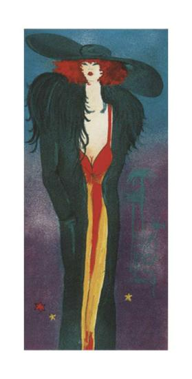 Lady-Monika Olga Dawidowski-Art Print