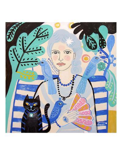 Lady-Mercedes Lagunas-Art Print