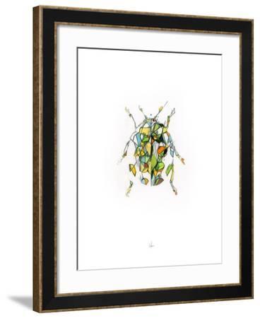 Ladybird-Alexis Marcou-Framed Art Print