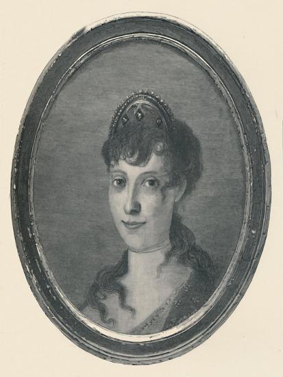 'Laetitia Ramolino - Wife of Carlo Buonaparte; Mother of Napoleon Bonaparte', c1780, (1896)-Unknown-Giclee Print