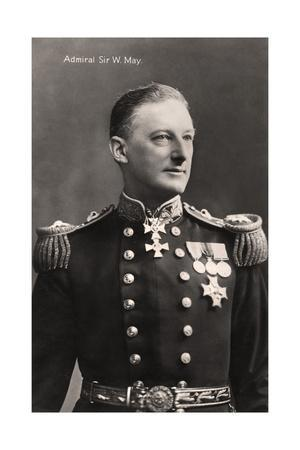 Admiral Sir W May, early 20th century.Artist: Lafayette
