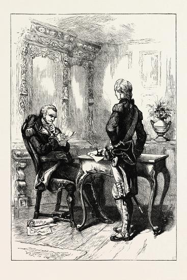 Lafayette and Washington, USA, 1870s--Giclee Print